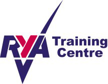RYA Training Centre Tick Logo white